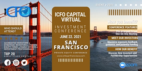 Live Web Event: The iCFO Virtual Investor Conference -  San Francisco tickets