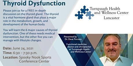 How To Manage Thyroid Dysfunction: A Turnpaugh Seminar At The Nook tickets