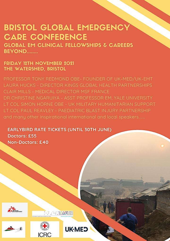 Bristol Global Emergency Medicine Care Conference image