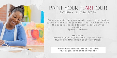 Paint Your Heart Out tickets