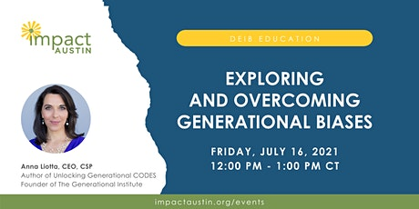 Exploring and Overcoming Generational Biases tickets