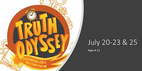 VBS Truth Odyssey Ages 4-11 tickets