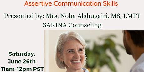 Assertive Communication Skills tickets