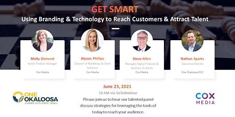 Get Smart - Using Branding & Technology to Reach Customers & Attract Talent tickets