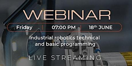 Industrial Robotics Seminar - Robotics Institute tickets