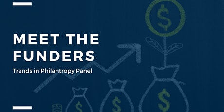 Meet the funders: Trends on Philanthropy Panel tickets