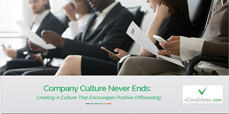 Company Culture Never Ends Weekly Module For SHRM PDC Credits bilhetes