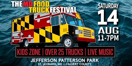 MD Food Truck Festival at Jefferson Patterson Park 2021 tickets
