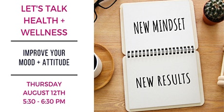 Free Seminar: Improve Your Mood + Attitude tickets