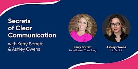 Secrets of Clear Communication biglietti