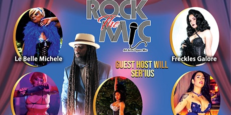 Rock The Mic All Arts June Trap Music Burlesque  Show tickets