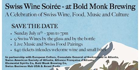Swiss Wine Soiree tickets