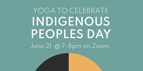 Yoga to Celebrate Indigenous Peoples Day tickets