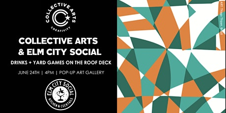 Collective Arts Launch Party at Elm City Social tickets
