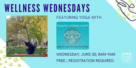 Wellness Wednesdays: Heaven Meets Earth Yoga tickets