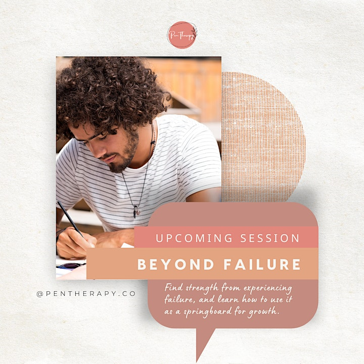 Beyond Failure Wellbeing Journaling Session - 9AM image