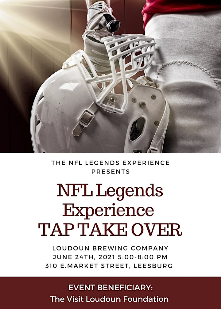 NFL Legends Experience Tap Take Over image