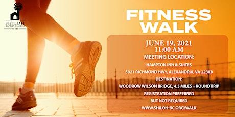 Shiloh Baptist Church Woodrow Wilson Fitness Walk tickets