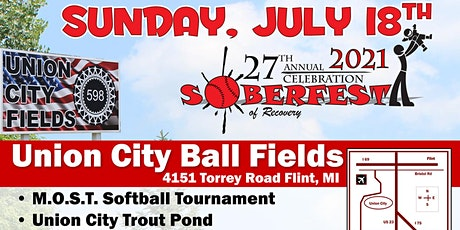 The 27th Annual Soberfest tickets