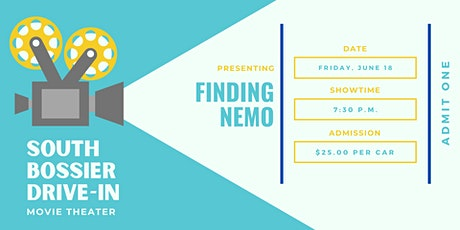 South Bossier Drive-In Movie: Finding Nemo tickets