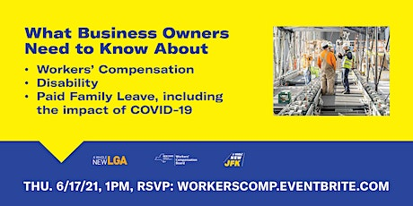 What Business Owners Need to Know  About Workers' Compensation tickets