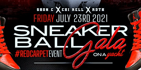 Sneaker Ball Gala on The Yacht #RedCarpetEvent tickets