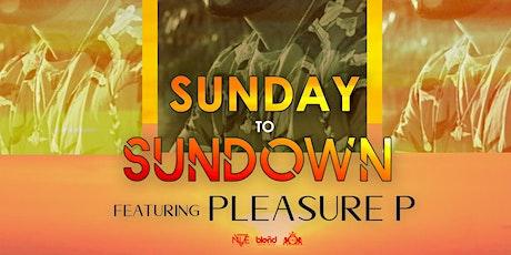SunDay to SunDown w/Pleasure P tickets