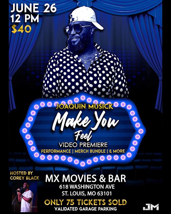 Joaquin Musick's Video Premier & Single Release Event image