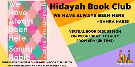 """Hidayah Queer Book Club - """"We have always been here"""" tickets"""