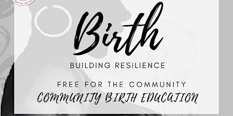 Virtual Childbirth Education Workshop Series tickets