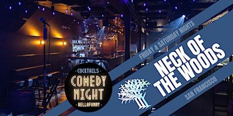 HellaFunny // SF's Newest Comedy Club (LIVE Friday & Saturday Nights) tickets