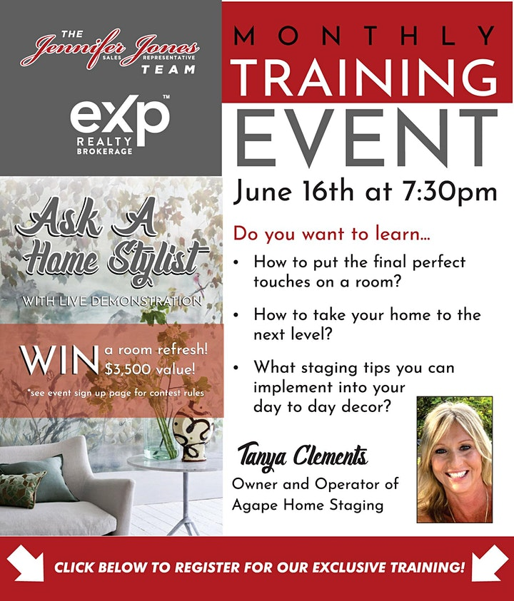 ASK A HOME STYLIST! With Live Demonstration image