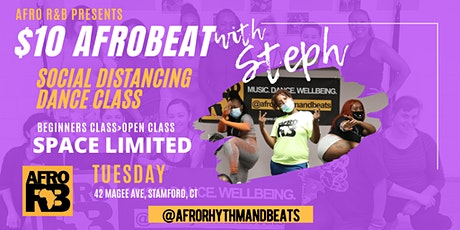 Afro R&B: Afrobeat Beginner Dance Class with Steph (Studio) tickets