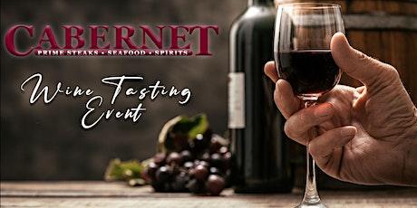 Cabernet Steakhouse - June Wine Tasting tickets