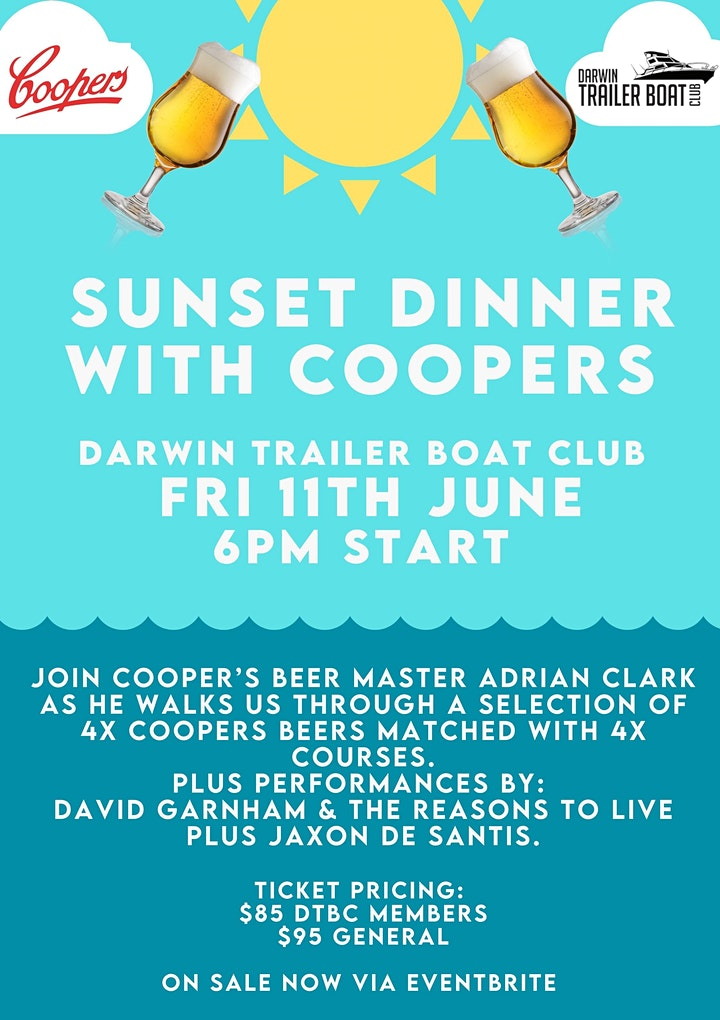 Sunset Dinner with Cooper's at DTBC image