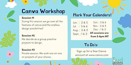 Canva Design Workshop tickets