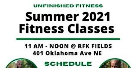 Summer 2021 Fitness Classes tickets