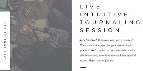 Intuitive Journaling Session tickets