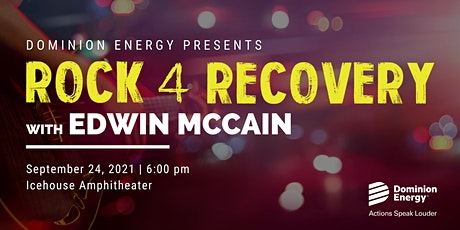 Rock 4 Recovery Fundraiser Concert featuring Edwin McCain tickets