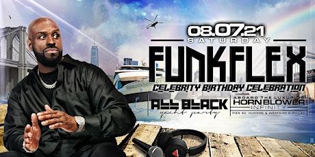 Funk Flex All Black Yacht Party tickets