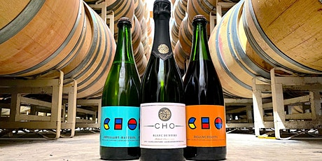 we pop bottles virtual wine tasting with CHO Wines Tickets
