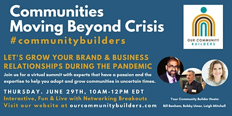 Communities moving beyond Crisis tickets