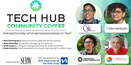 COMMUNITY COFFEE | 'Intersectionality of Underrepresentation in Tech' tickets