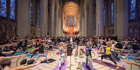 Yoga on the Labyrinth at Grace Cathedral tickets