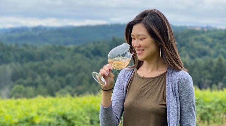 we pop bottles virtual wine tasting with CHO Wines image
