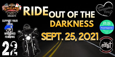 Ride Out of the Darkness-Suicide Awareness Ride & Cookout-Polk County, FL tickets