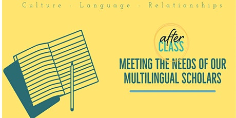 Meeting the Needs of our Multilingual Scholars tickets
