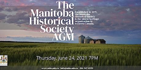 Manitoba Historical Society Annual General Meeting entradas