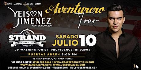 "YEISON JIMÉNEZ ""AVENTURERO TOUR"" PROVIDENCE tickets"