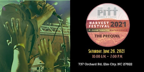 Harvest Festival - A Juneteenth Experience:  The Prequel tickets